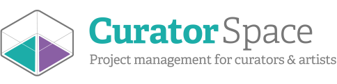 CuratorSpace | Project management tools for curators and artists